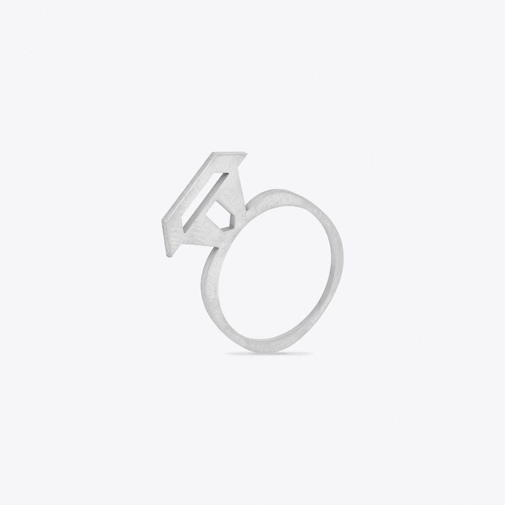 Treasure Ring in Silver