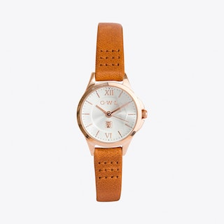 Chester Watch in Tan
