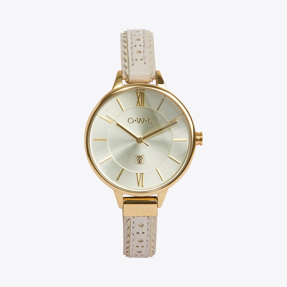 Belfast Watch in Cream