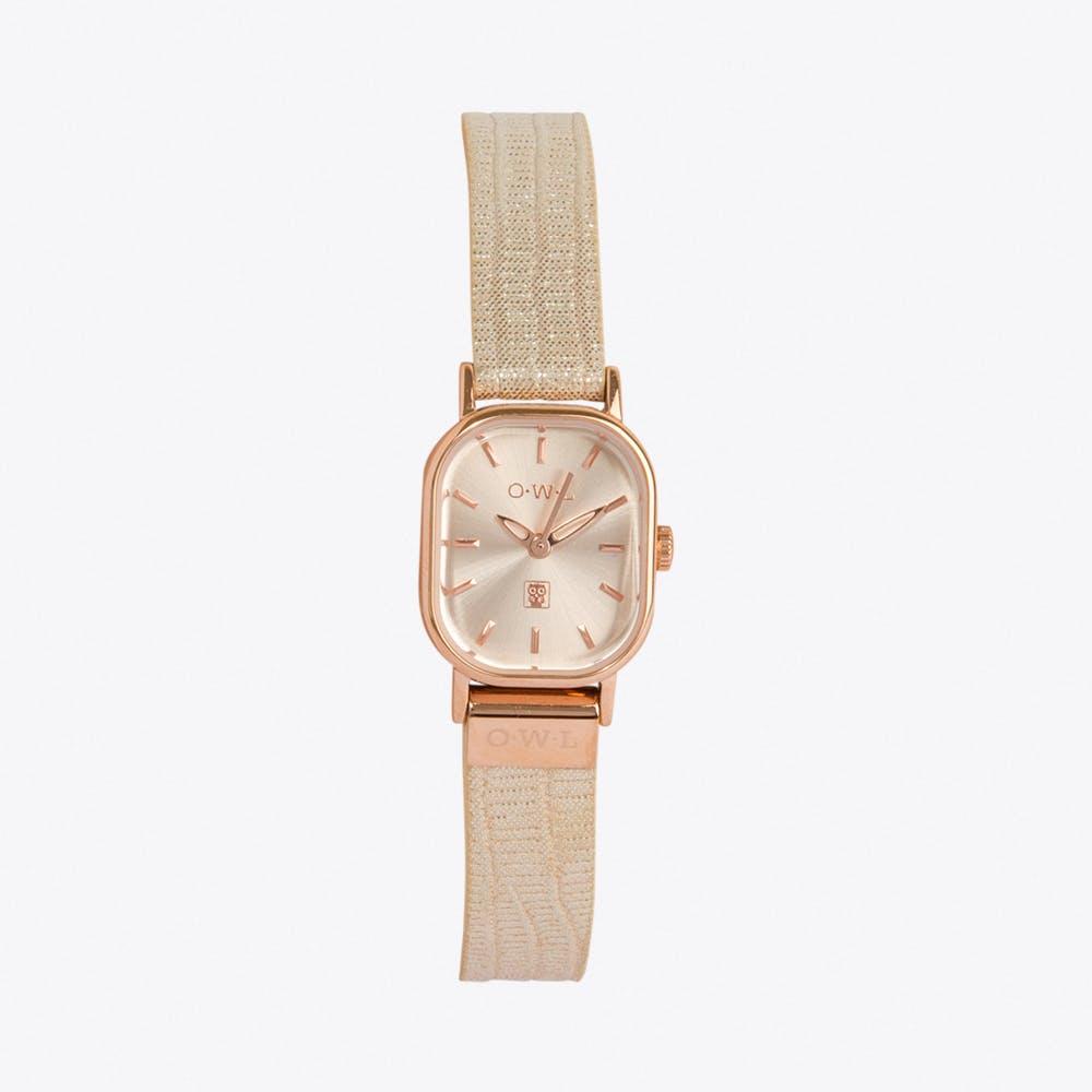 Stratford Watch in Cream