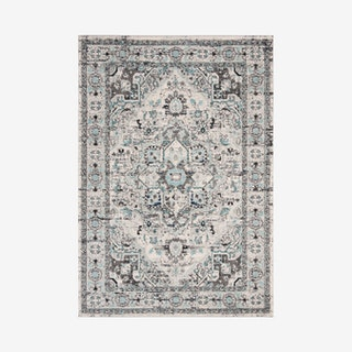 Madison Woven Area Rug - Light Grey / Blue - Ornamental