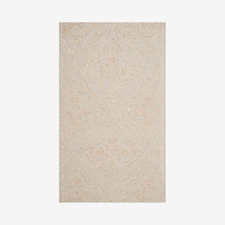 Manchester Hand Tufted Area Rug - Light Blue / Taupe