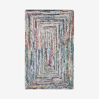 Nantucket Hand Tufted Area Rug - Multicoloured - Square