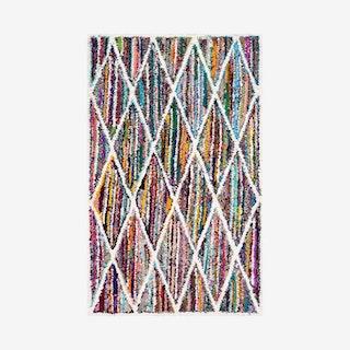 Nantucket Hand Tufted Area Rug - Multicoloured - Geometric 3