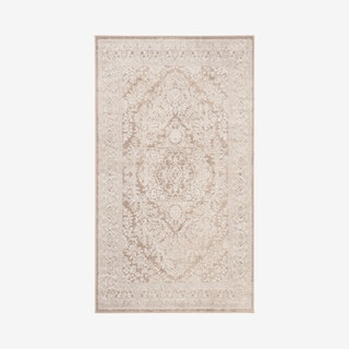 Reflection Woven Area Rug - Beige / Cream