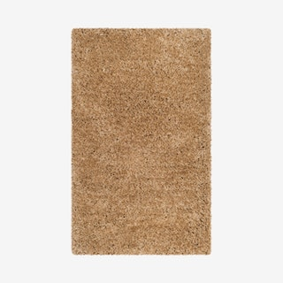 Express Shag Hand Tufted Area Rug - Beige