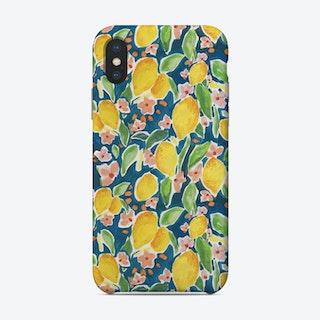 Watercolour Citrus Phone Case