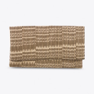 Rebozo Wallet in Cream & Black