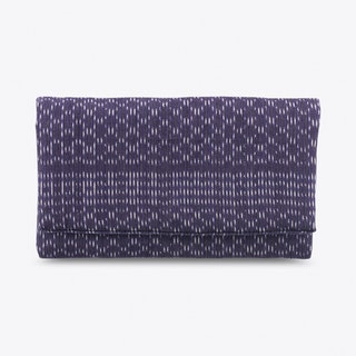 Rebozo Wallet in Ultramarine Blue