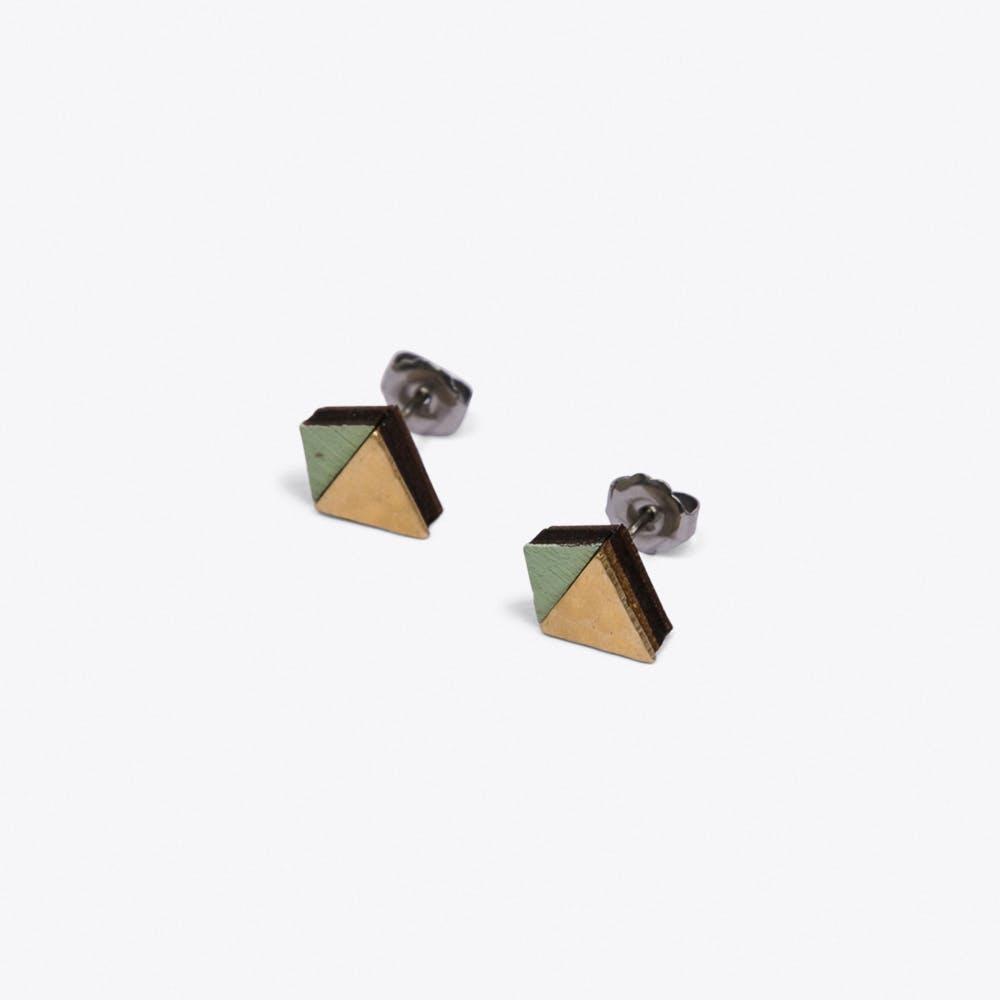 Femininum Earrings in Mint