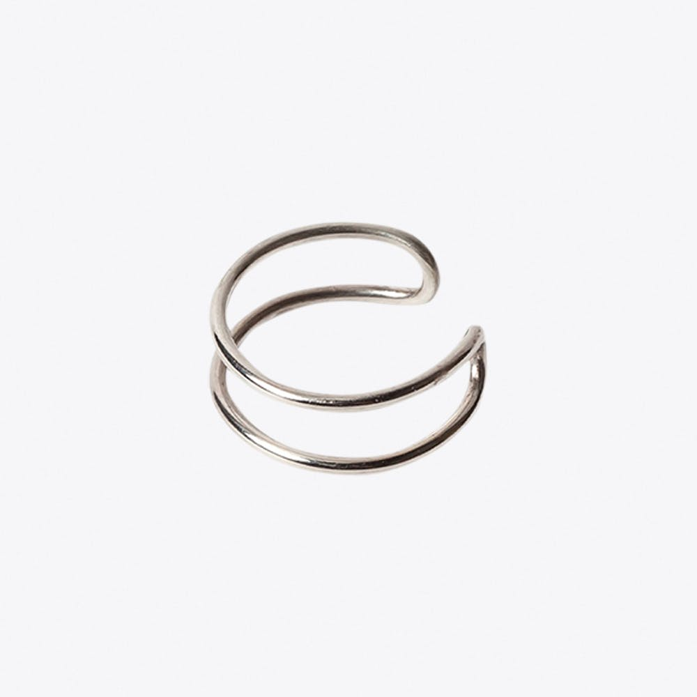 Adjustable Ring in Silver
