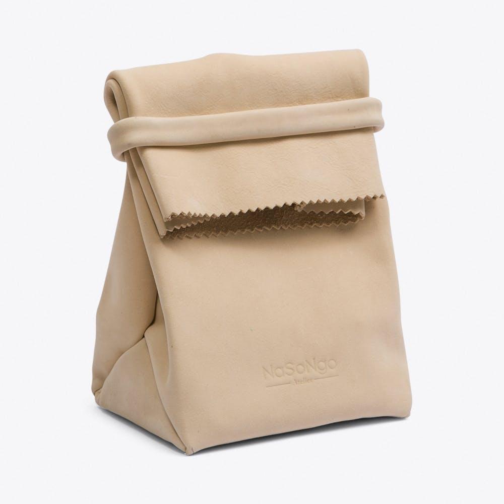 Paper Bag in Nude