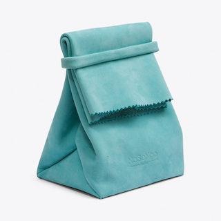 Paper Bag in Aqua