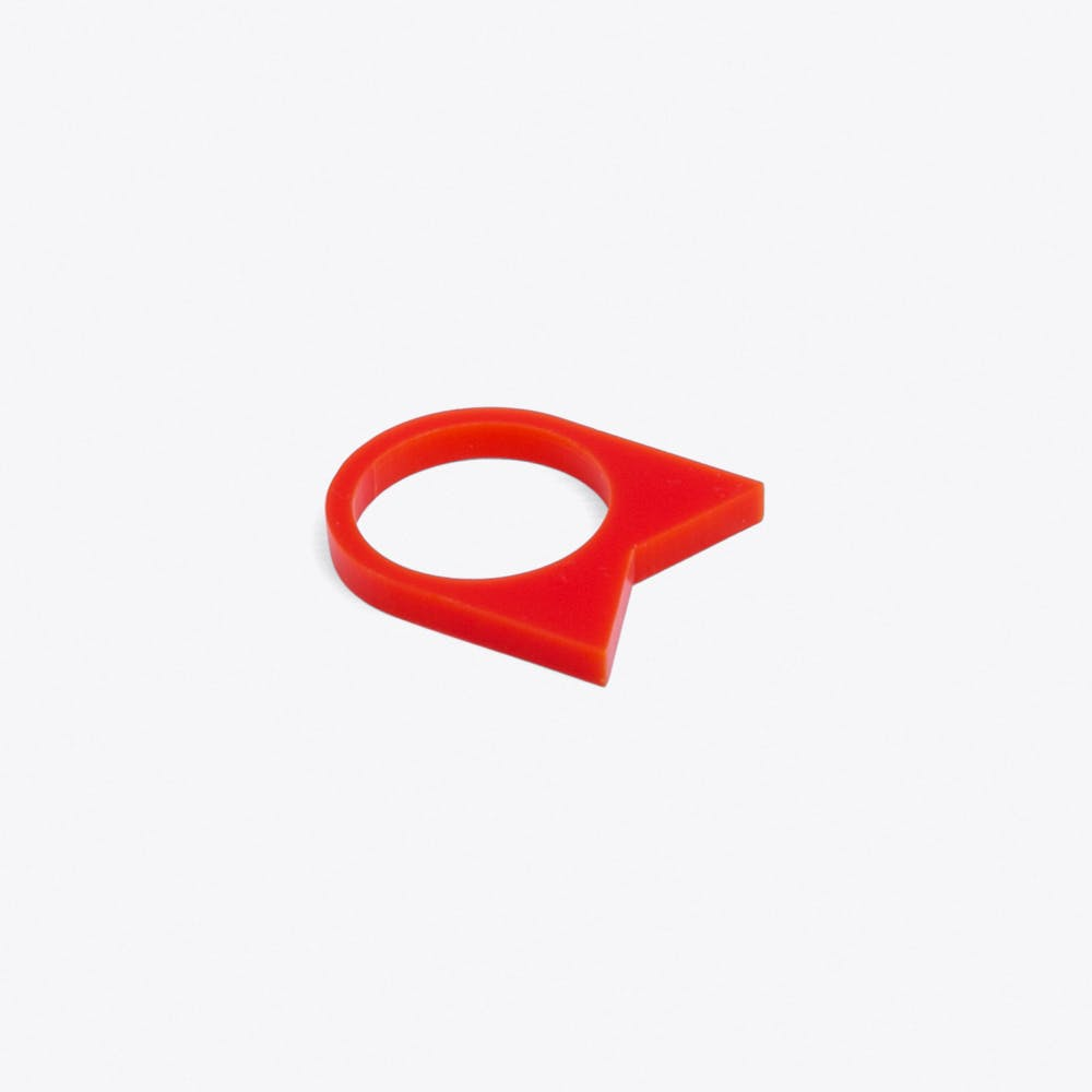 Acrylate Ring No.22 in Red