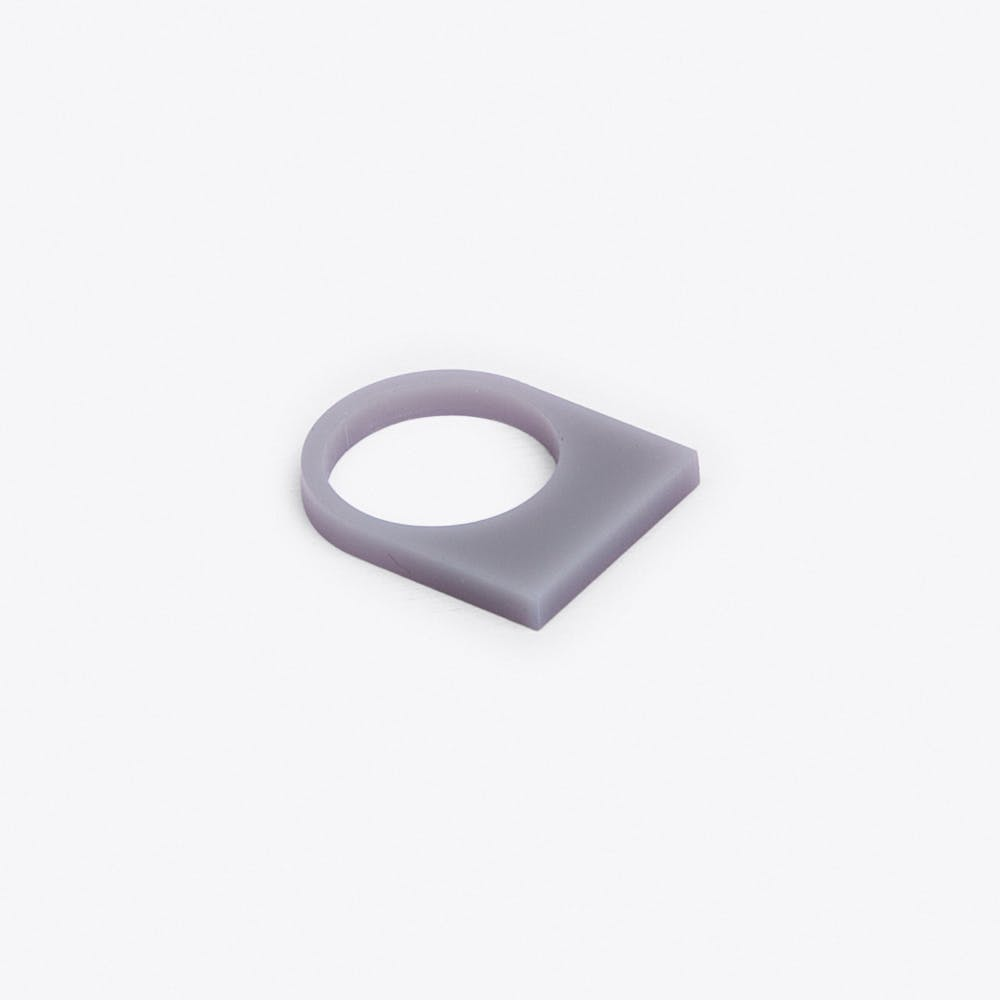 Acrylate Ring No.11 in Light Grey