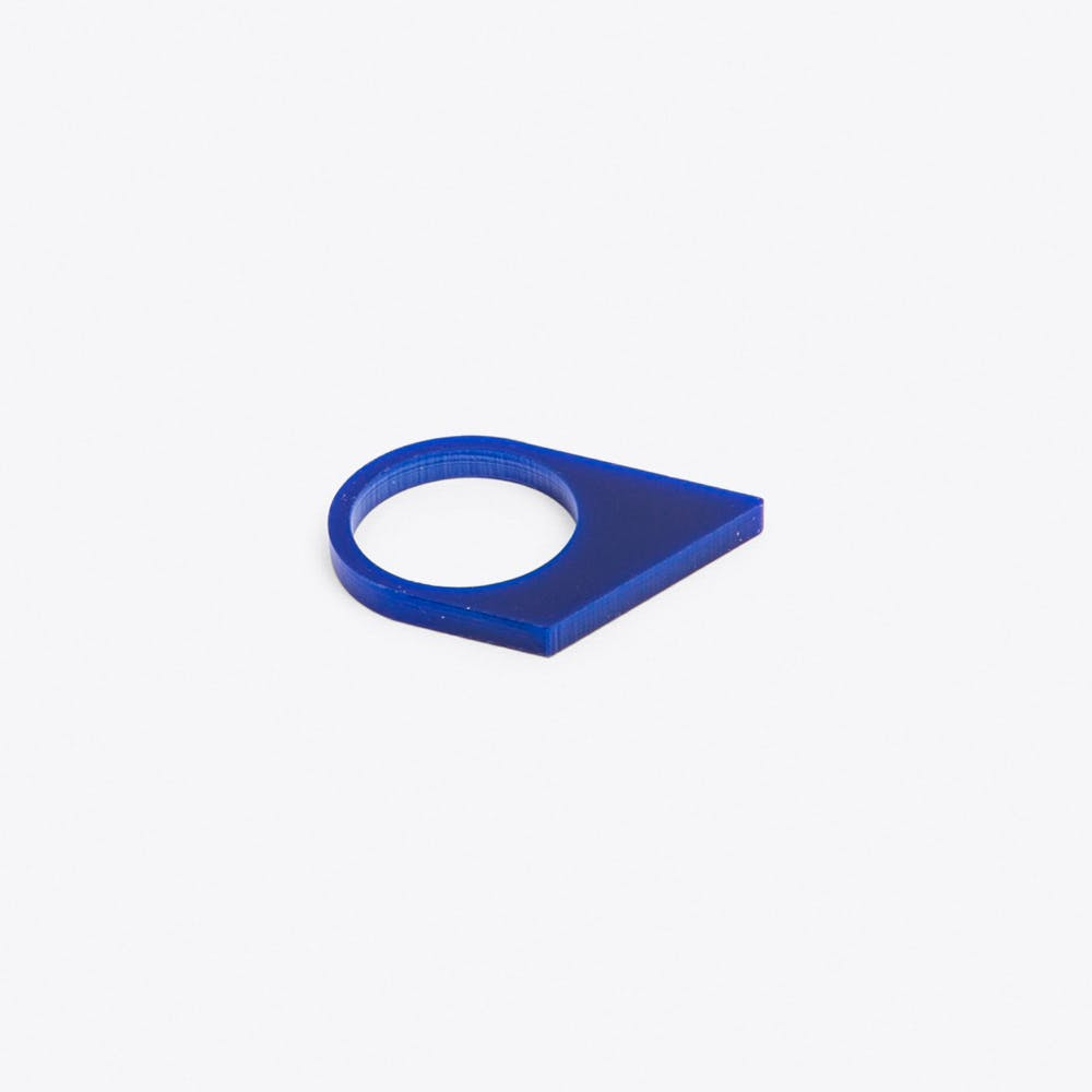Acrylate Ring No.17 in Midnight blue