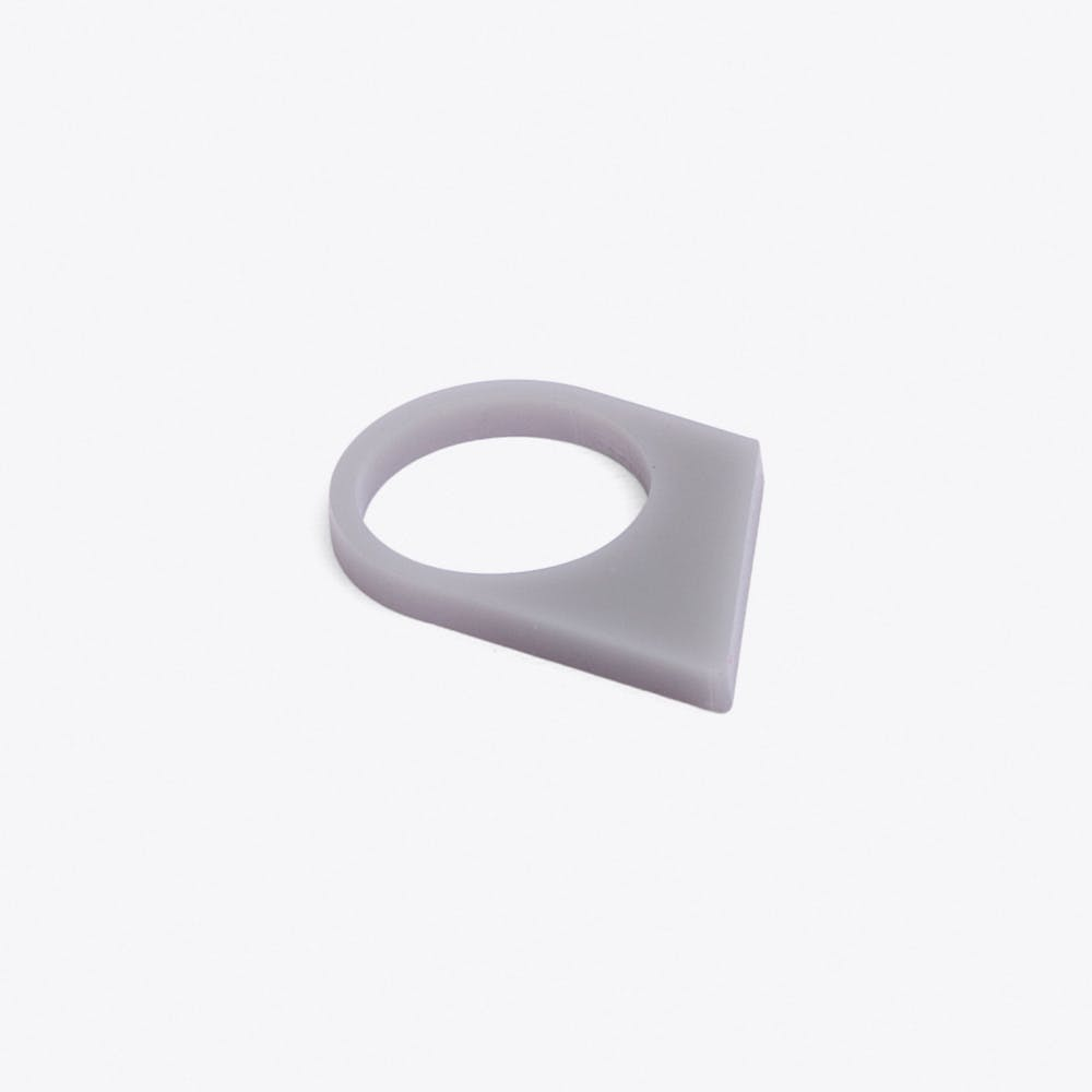 Acrylate Ring No.17 in Light grey