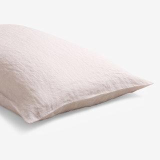 Pillowcase - Blush Pink  - Linen - Set of 2