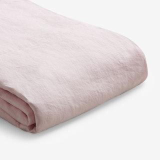 Duvet Cover - Blush Pink - Linen