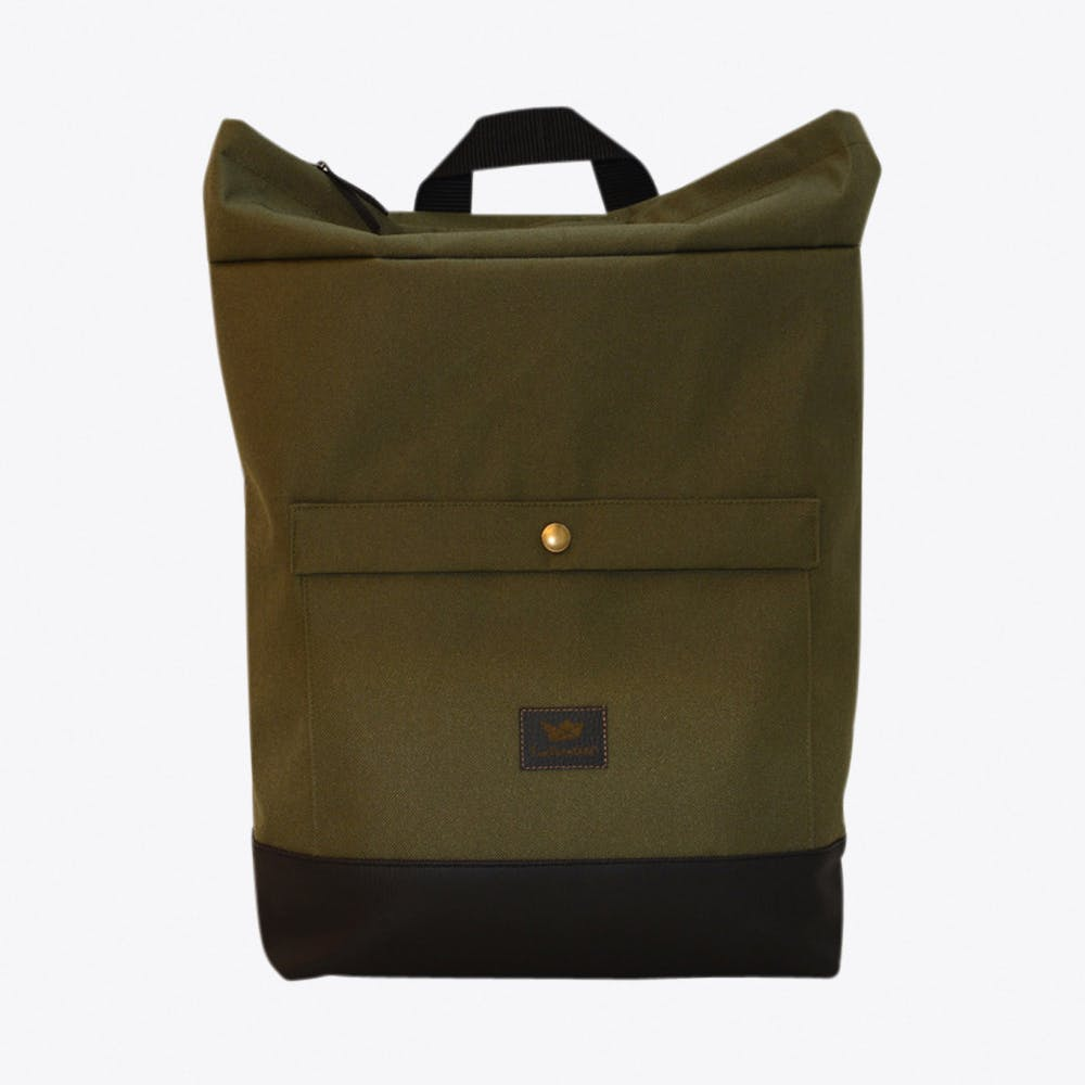 Barrio Backpack in Olive