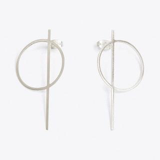 Thale Earrings in Silver