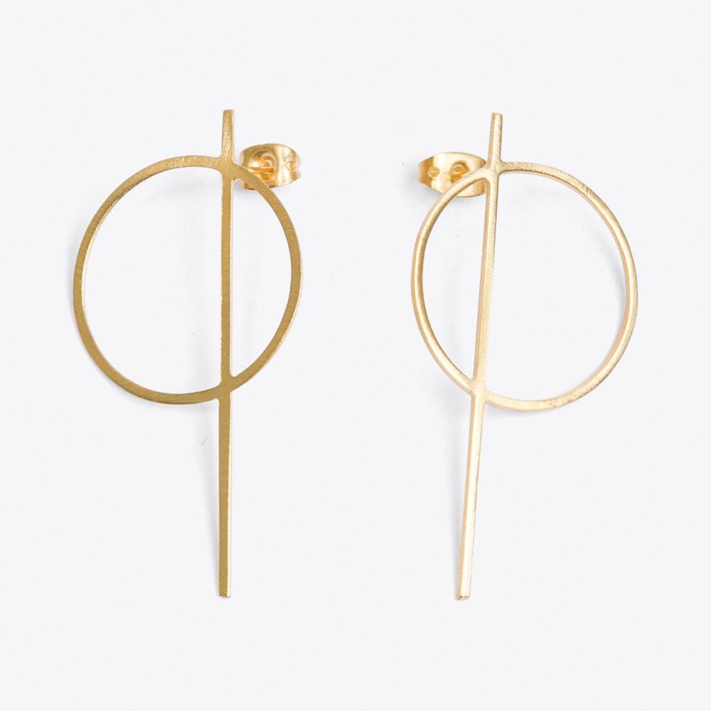 Thale Earrings in Gold