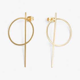 Thale Earrings in Gold