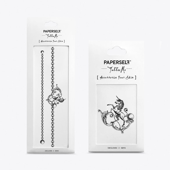 20b7f0d61 The Last Unicorn Temporary Tattoos by PAPERSELF. Discover Beauty on Fy