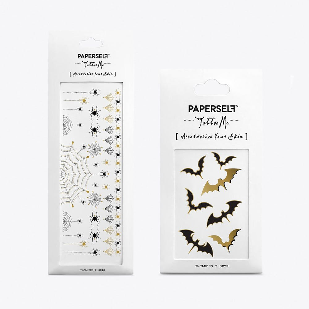 Spooky Temporary Tattoos