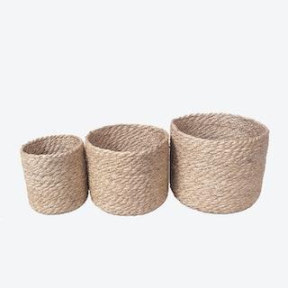 Kata Bins - Natural - Set of 3