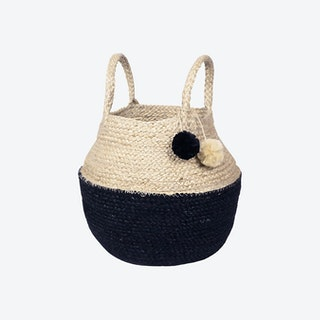 Naiya Foldable Basket Bag - Natural