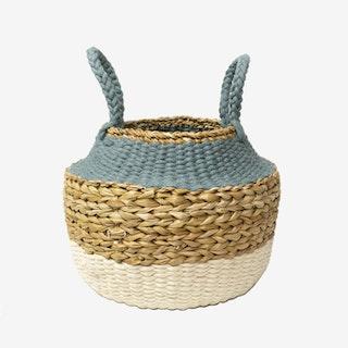 Ula Foldable Basket - Blue