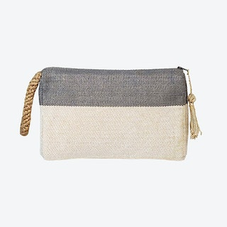 Block A Clutch - Grey
