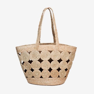 Kata Pompom Bag - Natural