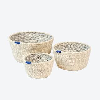 Amari Bowls - Blue - Set of 3