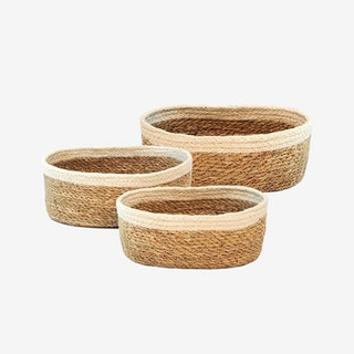 Savar Oval Bowls - Set of 3
