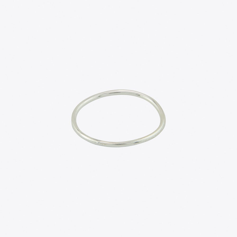 Silver Stripe Ring