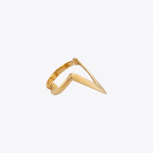 Triangle Ring in Rose Gold