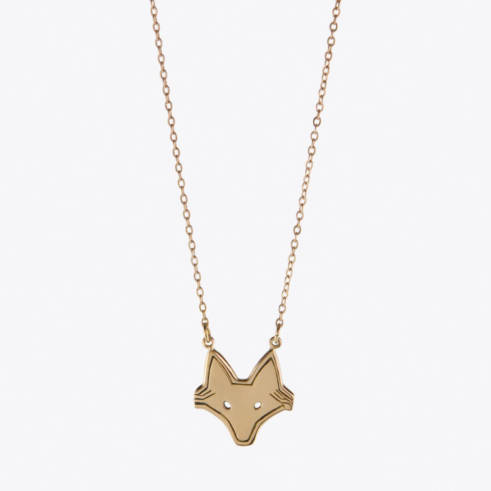 Foxy Necklace in Rose Gold