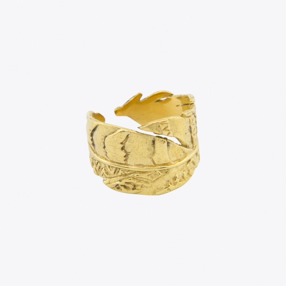 Fly Away Ring in Gold