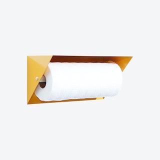 Paper Towel Holder - Yellow