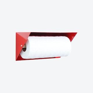 Paper Towel Holder - Red
