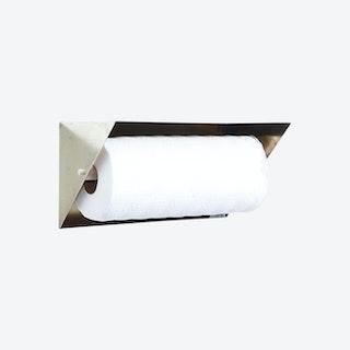 Paper Towel Holder - Brass