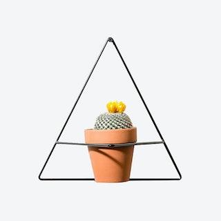 Triangle Wall Planter - Black