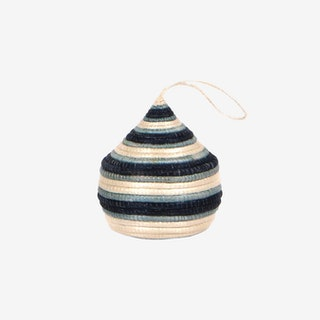 Bulb Ornament - Soft Blue / Navy