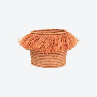 Fringed Catch All - Peach