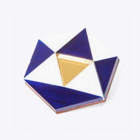Hexagon Brooch