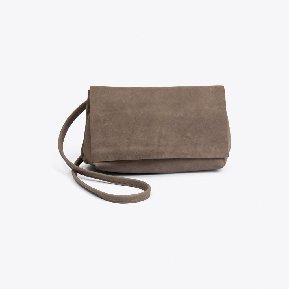 The Small Bag in Grey Concrete