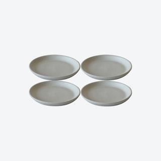 EDA Side Plate - Matte White - Set of 4