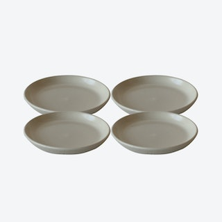 EDA Side Plate - Ivory - Set of 4